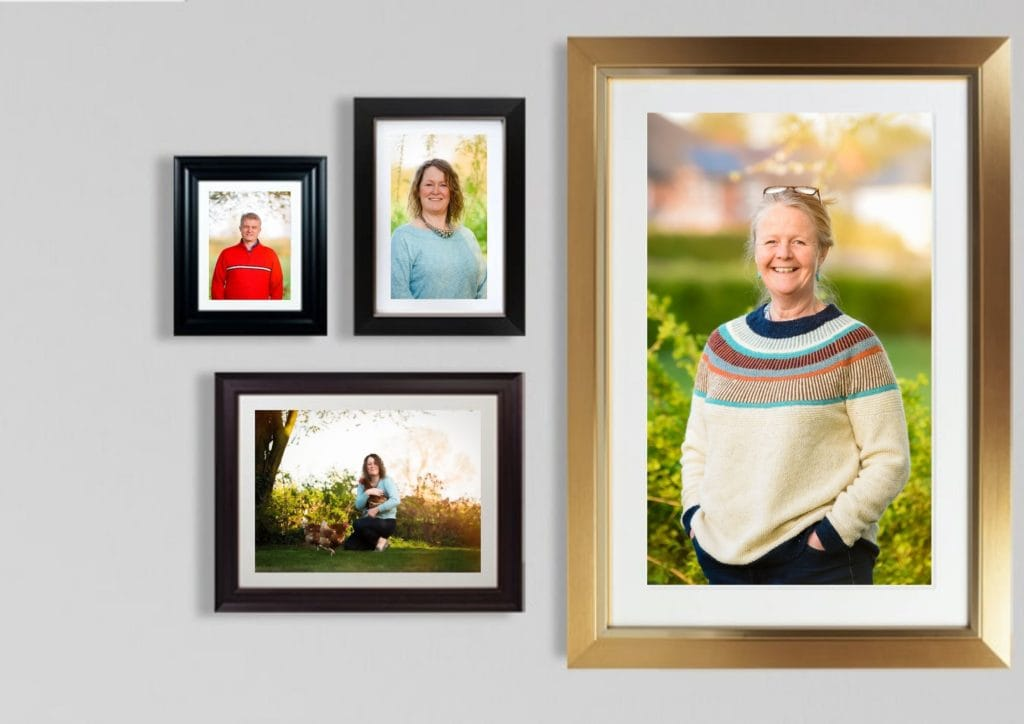 Selection of framed images from UK leading professional printer